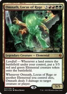 PROMO M20 MtG Omnath Locus of the Roil NM//M Mythic Rare