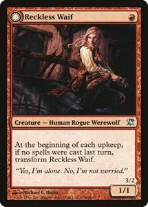 INNISTRAD Rare Rogue Werewolf NM MTG 1x KRUIN OUTLAW //// TERROR OF KRUIN PASS