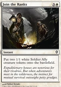White 1//1 Soldier Ally Token 10x MTG Magic NM Kotaki Art